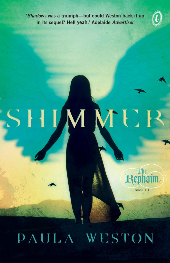 Shimmer (The Rephaim Book III) by Paula Weston